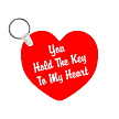 YOU HOLD THE KEY TO MY HEART KEY CHAIN