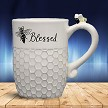 BEE BLESSED CERAMIC MUG