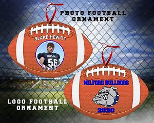FOOTBALL BACKGROUND ORNAMENT