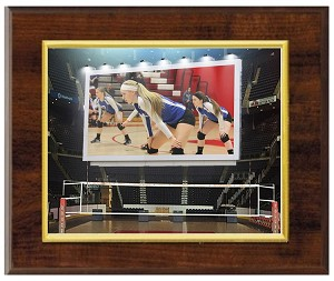 Volleyball Arena Billboard Plaque