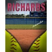 UNZIPPED SOFTBALL PRINT TEMPLATE