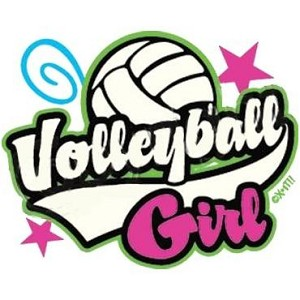 Volleyball Girl Design