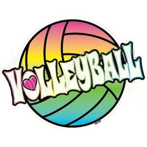 Neon Volleyball T-Shirt