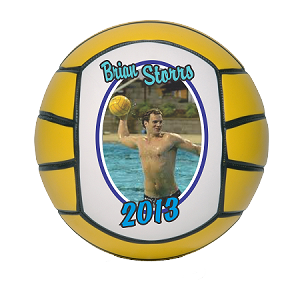 Mini Size Player Recognition Photo Water Polo Ball